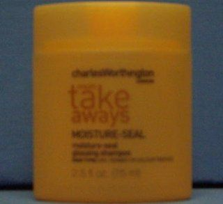 Charles Worthington Results Take Aways Moisture Seal Shampoo 2.5 Oz (3 Pack) : Hair Shampoos : Beauty