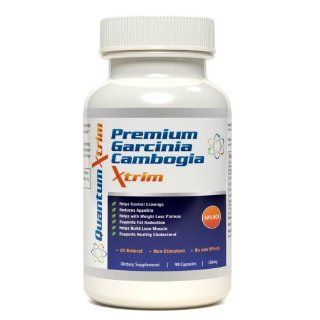 Garcinia Cambogia Extract 60% HCA 90 capsules 1000mg per serving EXTRA PREMIUM quality for MAXIMUM Weight Loss Results AS SEEN on Dr OZ show LOSE WEIGHT guaranteed Health & Personal Care