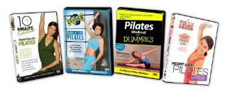 Pilates Starter Bundle ( Exclusive) 10 Minute Solution Rapid Results Pilates, Pilates for Dummies, Pick Your Level Weight Loss Pilates, Crunch   Burn & Firm Pilates Movies & TV