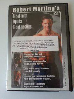 Robert Marting's Great Form Equals Great Results 1 (DVD)  Other Products