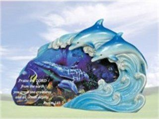 """Sea Dreams"" Dolphin Decoration with Saying : Collectible Figurines : Everything Else"