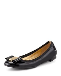 tock patent leather ballet flat, black   kate spade new york   Black (40.0B/10.