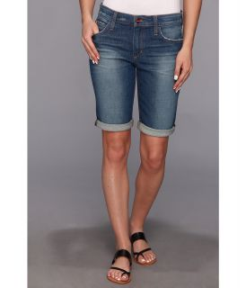 Joes Jeans Sun Faded Rolled Bermuda in Mariela Womens Shorts (Blue)