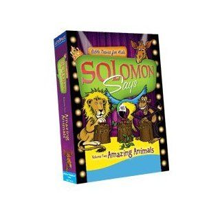 Solomon Says Bible Trivia for Kids Volume 2: Amazing Animals: Toys & Games
