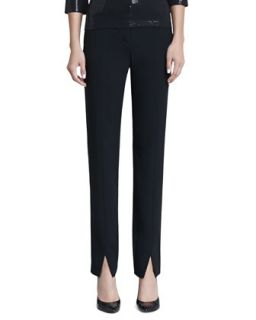 Womens Jennifer Pants   St. John Collection   Caviar cavr (14)