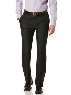 Perry Ellis Mens Micro Tonal Check Dress Pant