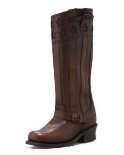 150th Anniversary America Engineer Boot, Dark Brown   Frye   Dark brown (36.