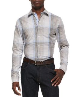 Mens Radford Check Shirt   Michael Kors     (MEDIUM)