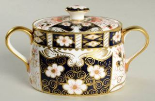 Royal Crown Derby Traditional Imari Sugar Bowl & Lid, Fine China Dinnerware   Bl