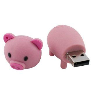 Generic US Pink Portable Fashion Cute Cartoon Pig 16GB USB Flash Drive Disk Momery Stick Pink: Computers & Accessories