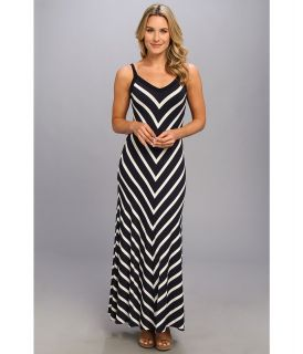 Karen Kane Miter Maxi Strap Dress Womens Dress (Multi)