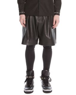 Mens Cotton Jersey Leggings, Black   Givenchy   Black (MEDIUM)