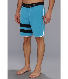 Hurley Phantom Block Party Heather Boardshort 19 Mens Swimwear (Blue)