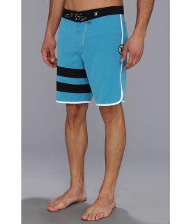 Hurley Phantom Block Party Heather Boardshort 19 Mens Swimwear (Blue)