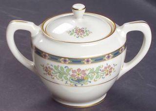 Lenox China Mystic Shape 1962 Sugar Bowl & Lid, Fine China Dinnerware   Multicol