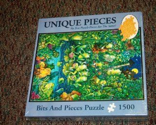 Bits and Pieces Puzzle 1500 Pieces   Unique Pieces   No Two Puzzle Pieces Are the Same   A Little Night Music Toys & Games