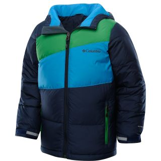 COLUMBIA Boys Mash Up Puffer Jacket   Size: 14/16, Compass Blue