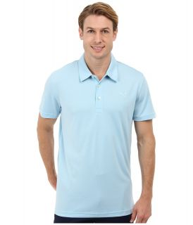 PUMA Golf Tech Polo 14 Mens Short Sleeve Knit (Blue)