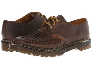 Dr. Martens Ezra Interwoven Shoe Lace up casual Shoes (Brown)