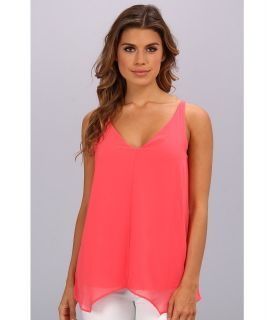 Kenneth Cole New York Robin Blouse Womens Blouse (Pink)