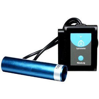 NEULOG Spirometer Logger Sensor, 14 bit ADC Resolution, 100 S/sec Maximum Sample Rate Science Lab Education Curriculum Support Industrial & Scientific