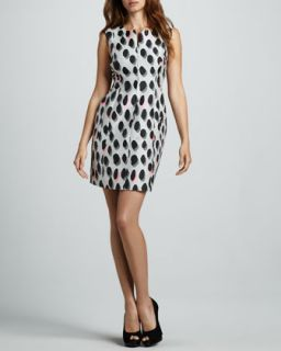 Womens New Summer Animal Dots Minidress   Diane von Furstenberg