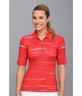 Nike Golf Multi Dot Polo Womens Short Sleeve Knit (Orange)