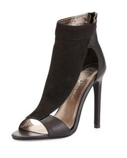 Vandross Wide T Strap Sandal, Black   Jeffrey Campbell   Blk (7B)