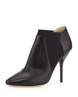 Deluxe Leather Ankle Boot, Black   Jimmy Choo   Black (37.5B/7.5B)