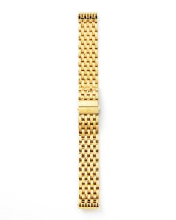 18mm Deco Watch Bracelet, Yellow Gold   MICHELE   Yellow (18mm )
