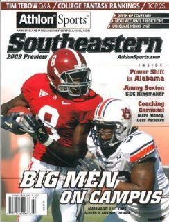 Julio Jones unsigned 2009 Alabama Crimson Tide Preseason SEC Magazine Preview : Sports Fan Prints And Posters : Sports & Outdoors