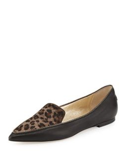 Guild Leopard Print Calf Hair Loafer, Paloma   Jimmy Choo   Paloma (36.5B/6.5B)
