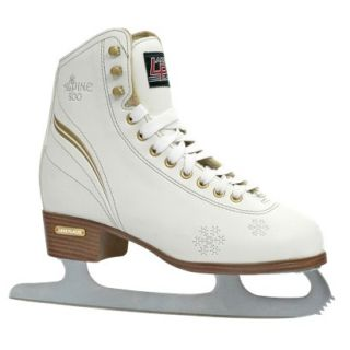 Womens Lake Placid Alpine 800 Figure Ice Skate   White (9)