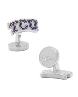 Mens TCU Horned Frogs Cufflinks   Purple (ONE SIZE)