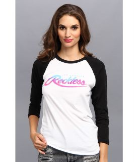 Young & Reckless Rawlin Raglan Womens T Shirt (White)