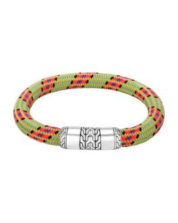 Mens Classic Chain Multicolor Cord Bracelet   John Hardy   Multicolor