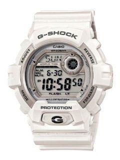 Casio Men's G8900A 7CR G Shock Shock Resistant White Resin Digital Sport Watch Casio Watches