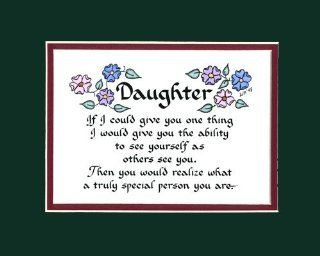 Daughter Saying Home Decor Wall Sign   Childrens Wall Decor