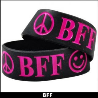 1 of BFF Designer Rubber Saying Bracelet (Sold Individually) #36: Clothing
