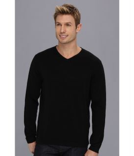 Tommy Bahama Island Deluxe V Neck Sweater Mens Sweater (Black)