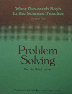 What Research Says to the Science Teacher (9780873550840): Dorothy Gabel: Books