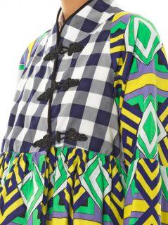 Pamela Onaedo Diamond print jacket  Stella Jean  MATCHESFASH