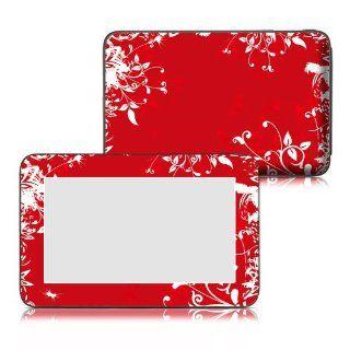 Bundle Monster Velocity Micro Cruz T103 Tablet Vinyl Skin Art Decal Sticker Protector Accessories   Seeing Red Computers & Accessories