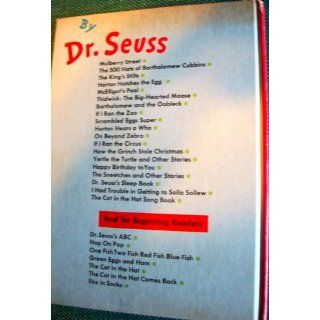 Happy Birthday to You! (9780394800769): Dr. Seuss: Books