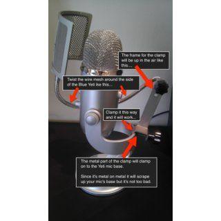 Blue Microphones The Pop Universal Pop Filter Musical Instruments