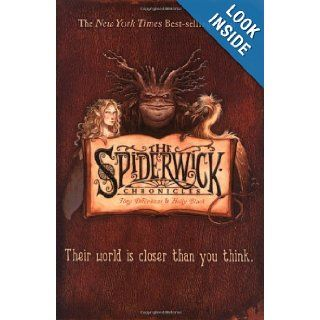 The Spiderwick Chronicles (Boxed Set): The Field Guide; The Seeing Stone; Lucinda's Secret; The Ironwood Tree; The Wrath of Mulgrath: Holly Black, Tony DiTerlizzi: 9780689040344:  Children's Books