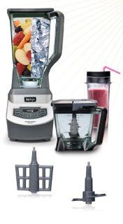 Ninja Kitchen Blender KS Limited Edition 1200 Watts   AS SEEN ON TV: Electric Countertop Blenders: Kitchen & Dining