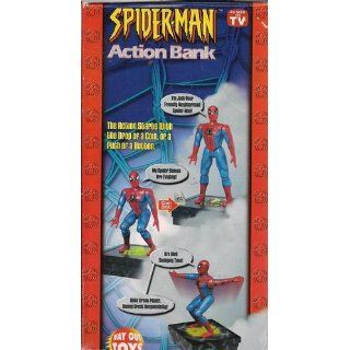 "Marvel Spider Man Action Bank Limited Edition (As Seen on TV) 11 1/2"" Tall (2002): Toys & Games"
