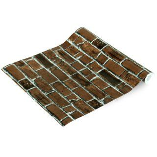 Brick Wall   Self Adhesive Wallpaper Home Decor(Sample)