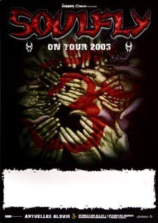 Soulfly Prophecy 2003   Concert Music Poster Concertposter   Prints